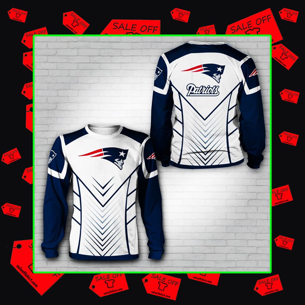 Patriots sweatshirt 3d