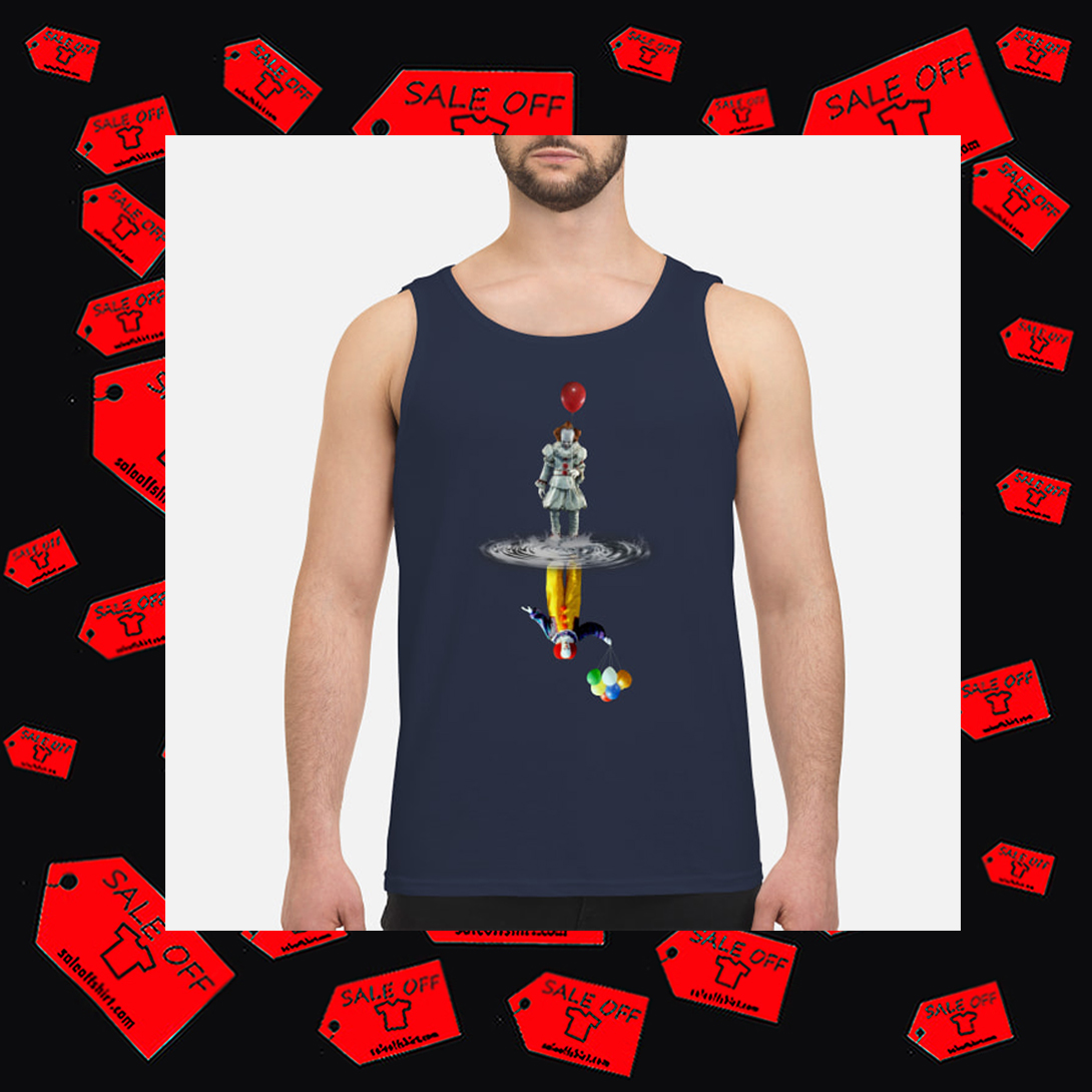 Pennywise IT Reflection men's tank top