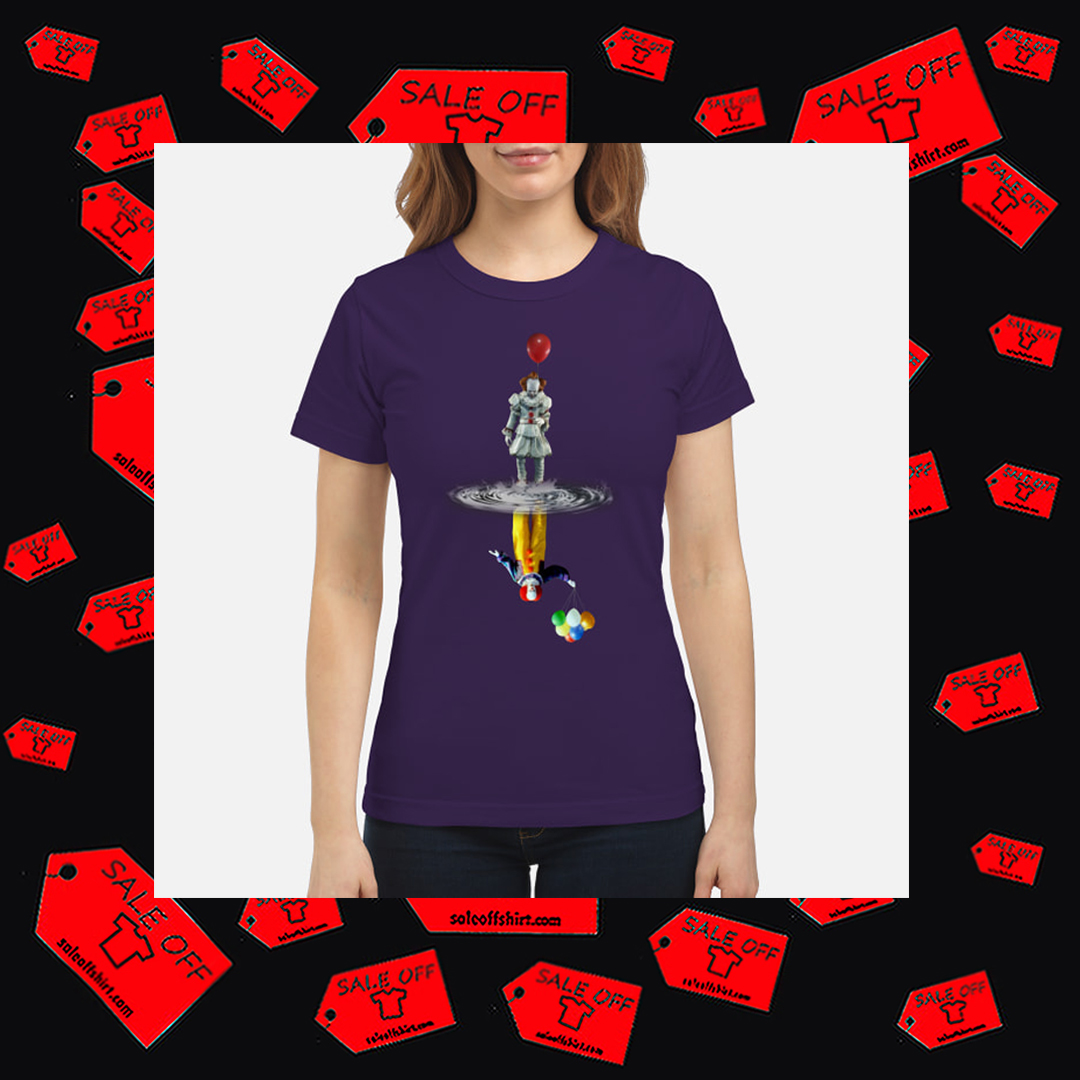 Pennywise IT Reflection women's shirt