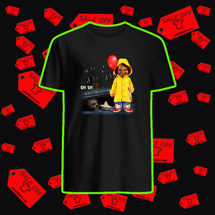 Pennywise and Chucky Oh shIT shirt