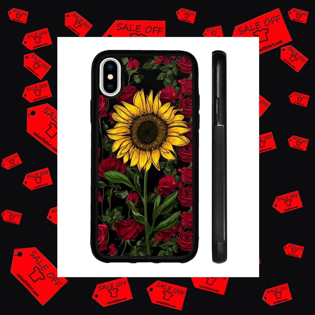 Rose Sunflower Phone Case