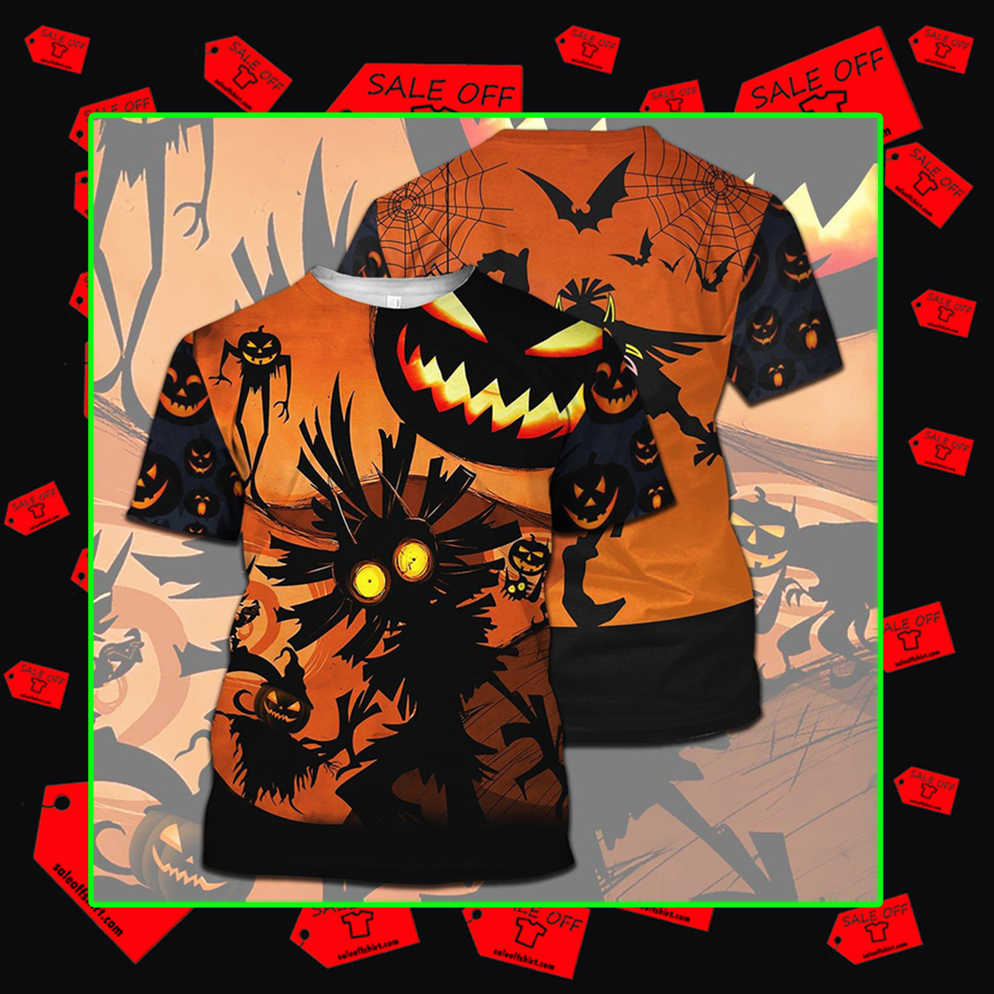 Skull Kid Halloween 3d t-shirt