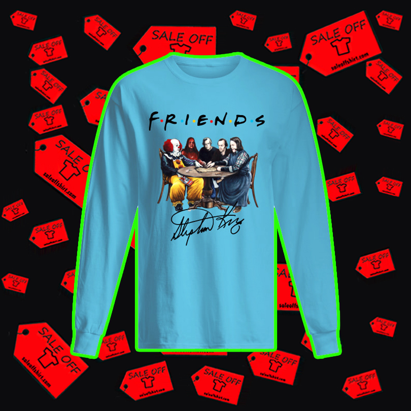 Stephen King Friends Signature long sleeved t-shirt