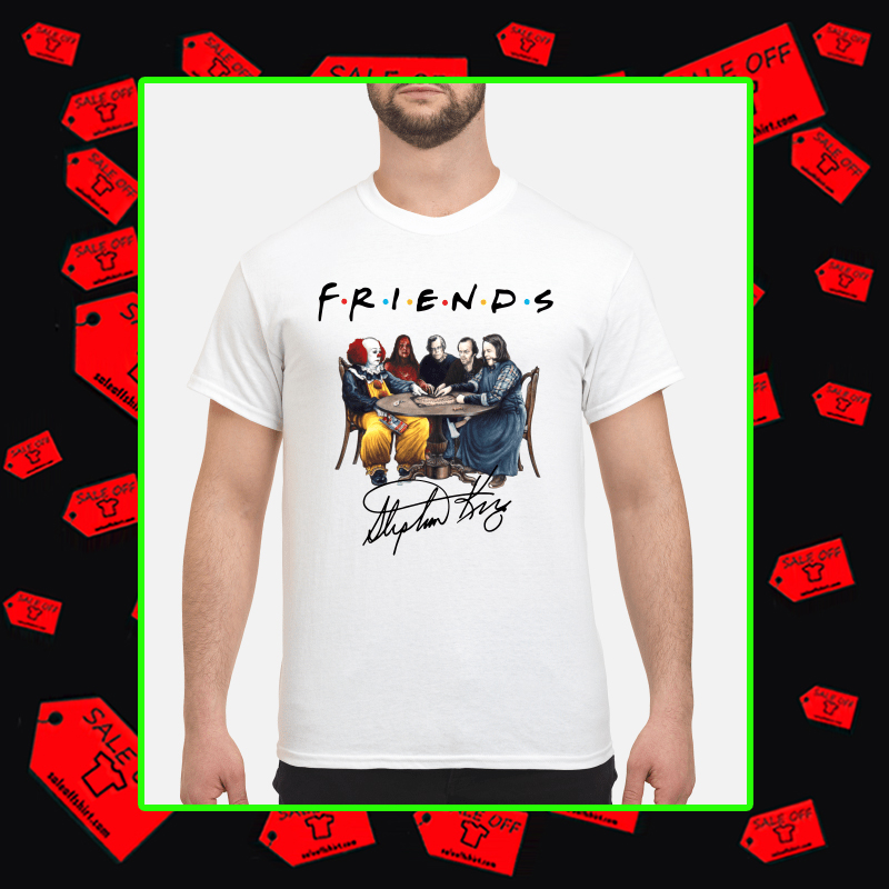Stephen King Friends Signature shirt