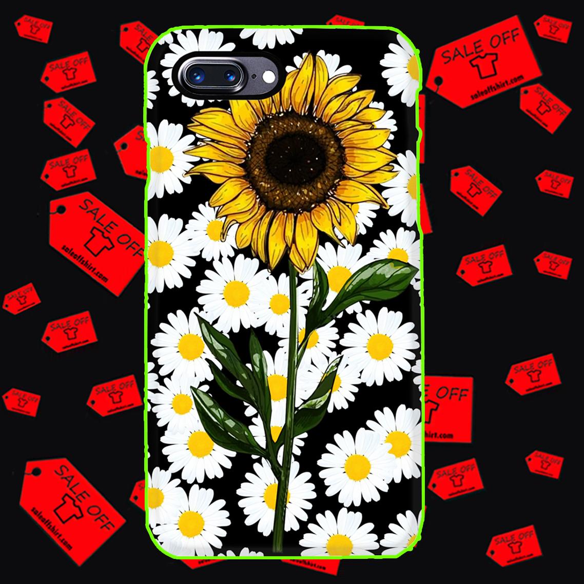 Sunflower daisy phone case - Iphone 7 plus case