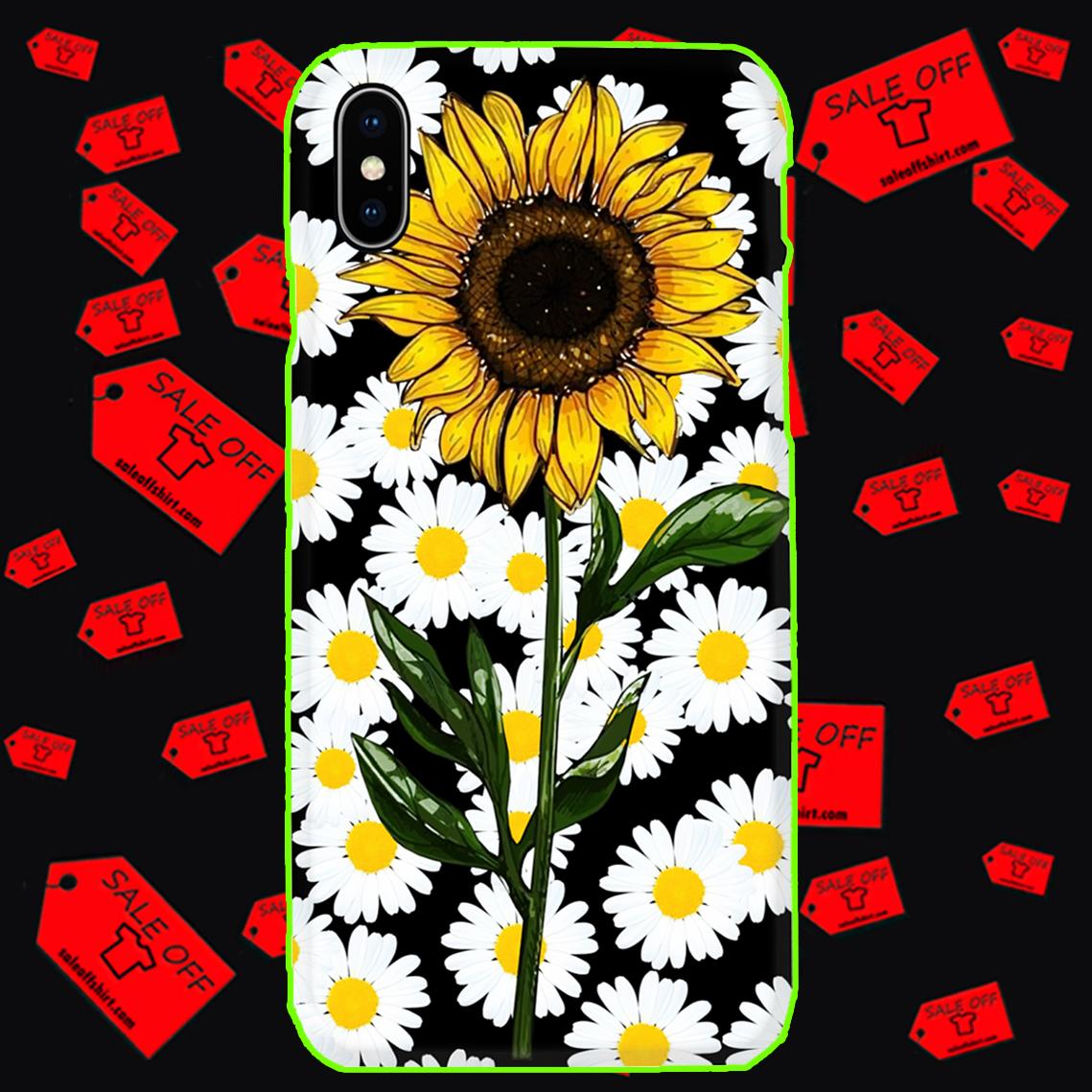 Sunflower daisy phone case - Iphone X case