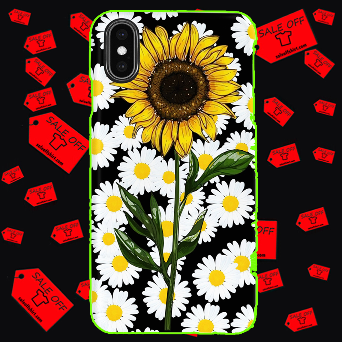 Sunflower daisy phone case - Iphone XS Max case