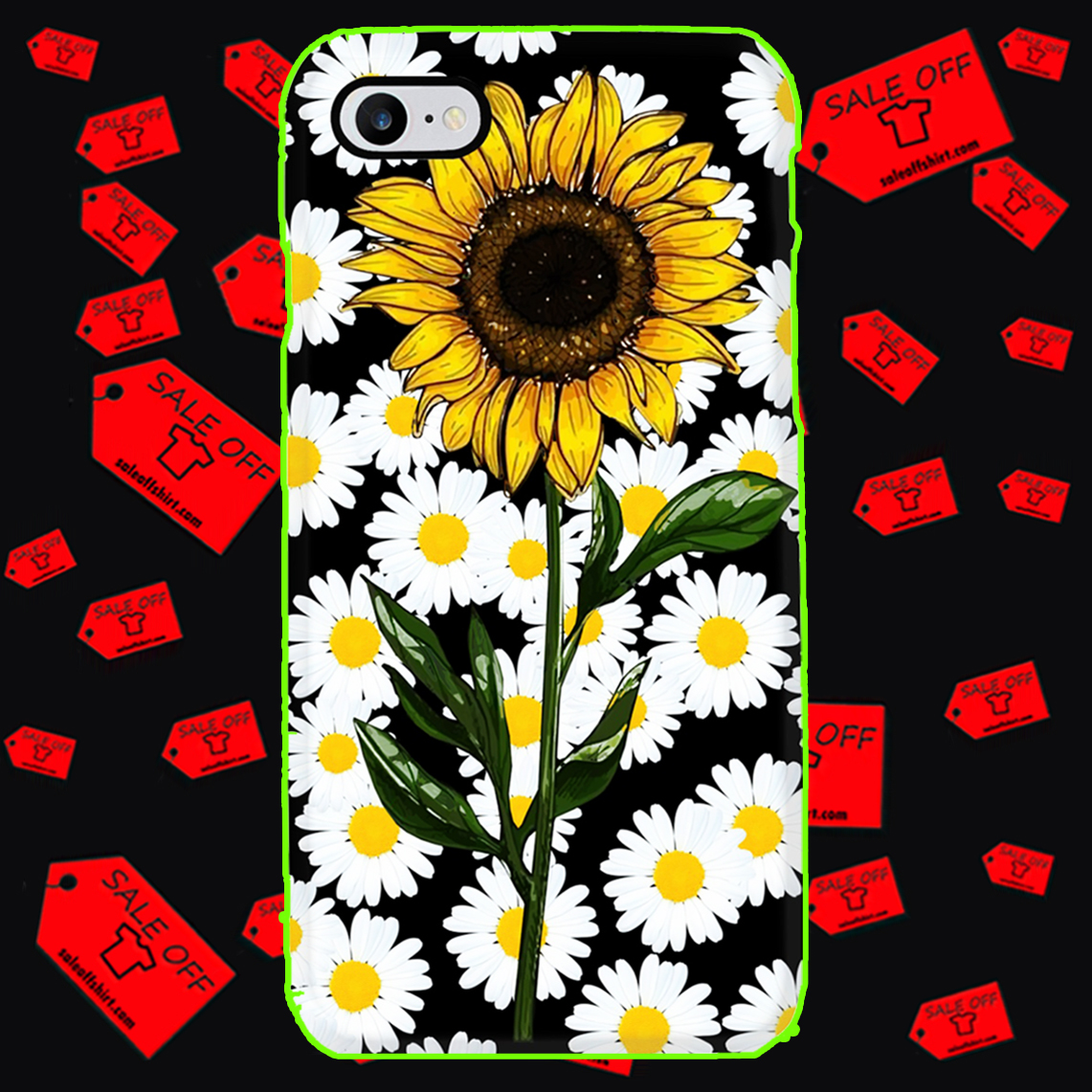 Sunflower daisy phone case