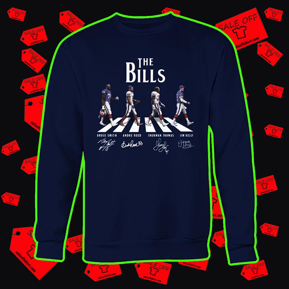 The Bills Abbey Road sweatshirt