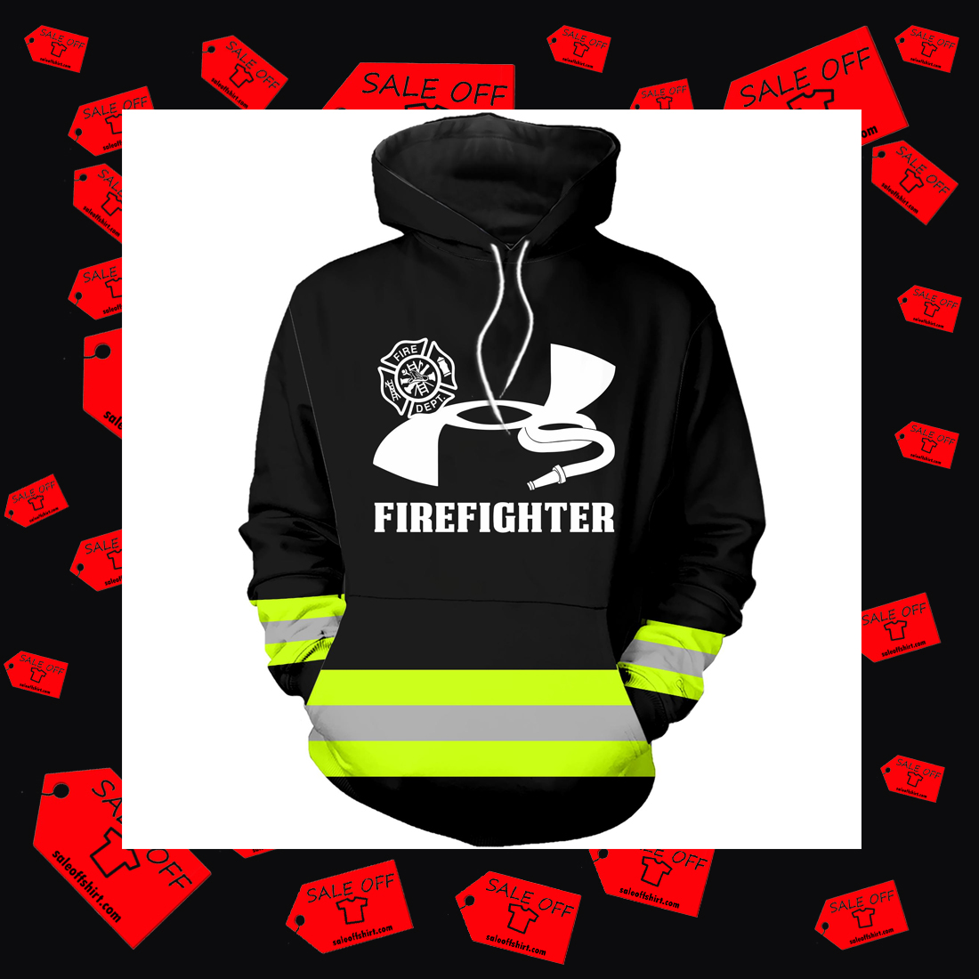 Under Armour Firefighter Hoodie 3D