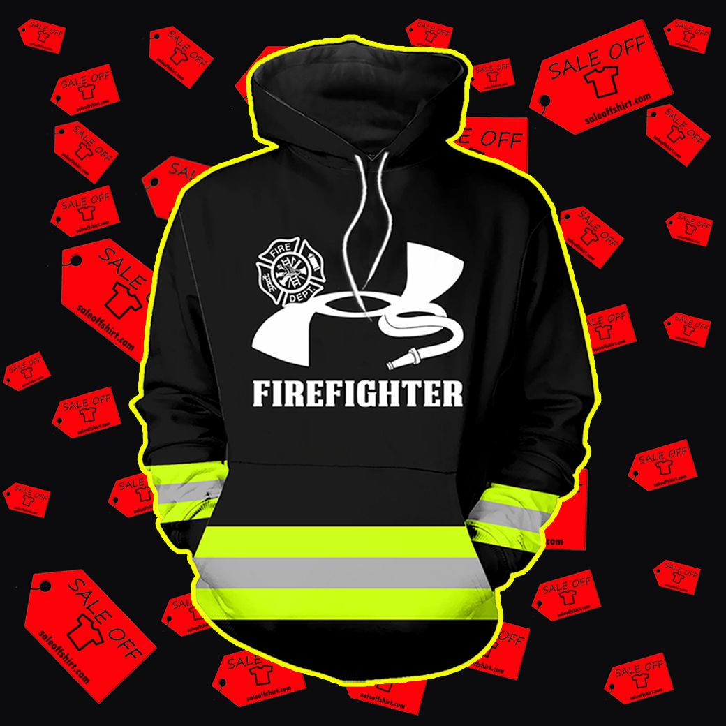 Under Armour Firefighter hoodie 3D - black
