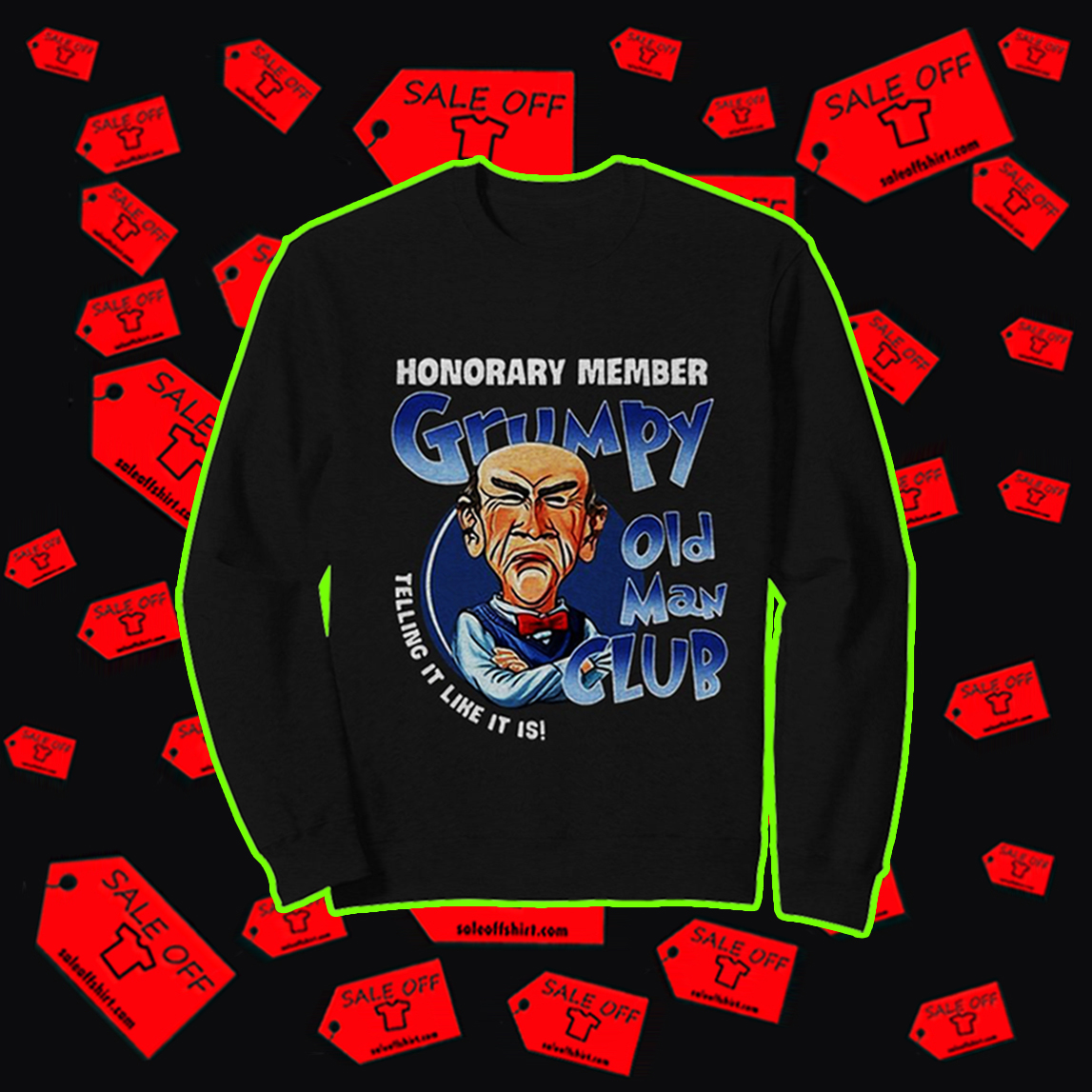 ® Where to buy: Walter honorary member grumpy old man club shirt
