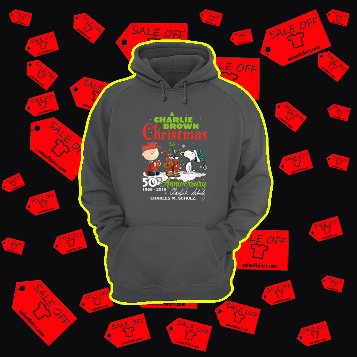 A Charlie Brown Christmas 50th Anniversary 1969 2019 hoodie