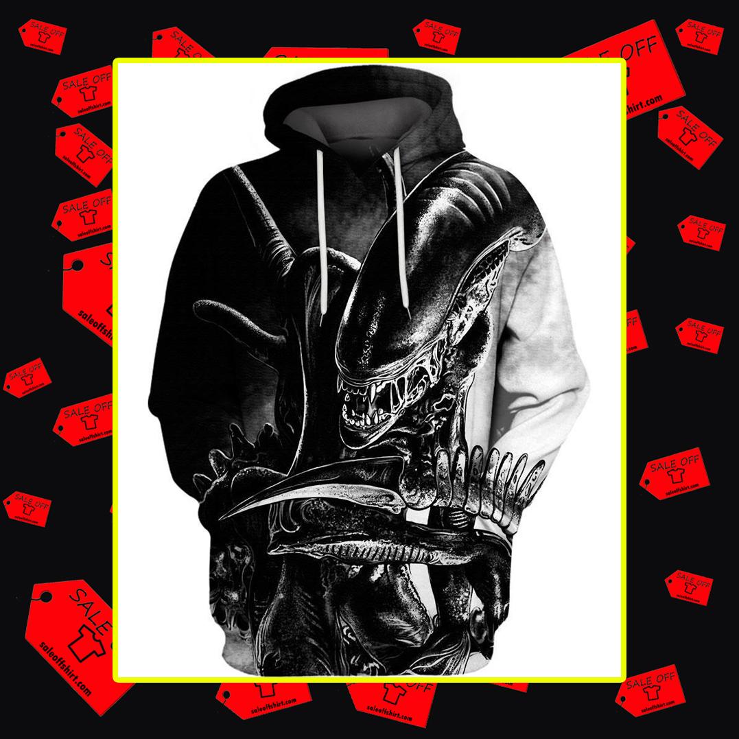 Alien 3d hoodie