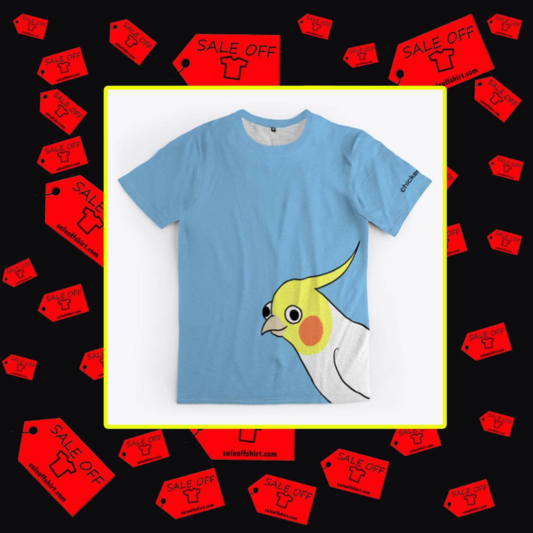 Chicken thoughts 3d T-shirt- front