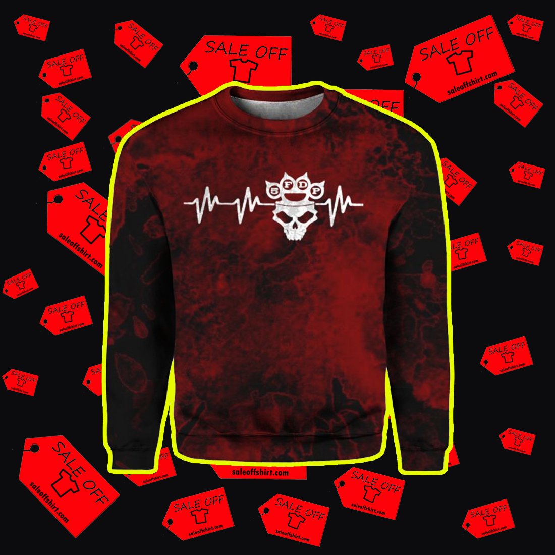 Five Finger Death Punch 5FDP I stand alone 3D Sweatshirt