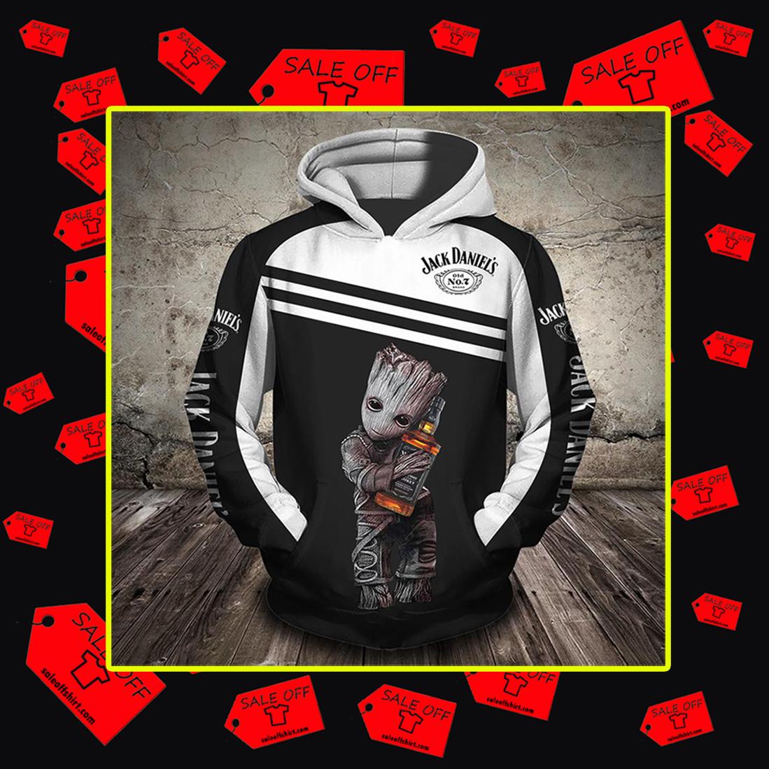 Groot Jack Daniel's 3d hoodie