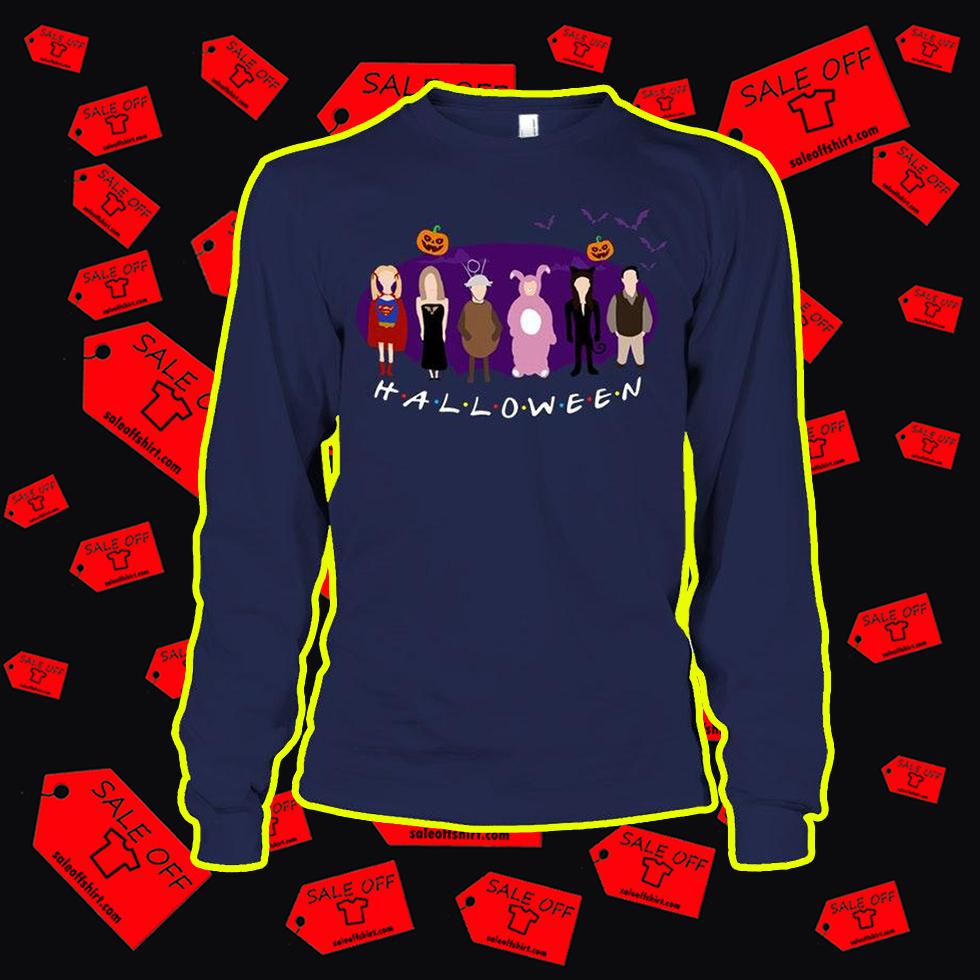 Halloween Friends TV Series long sleeve tee