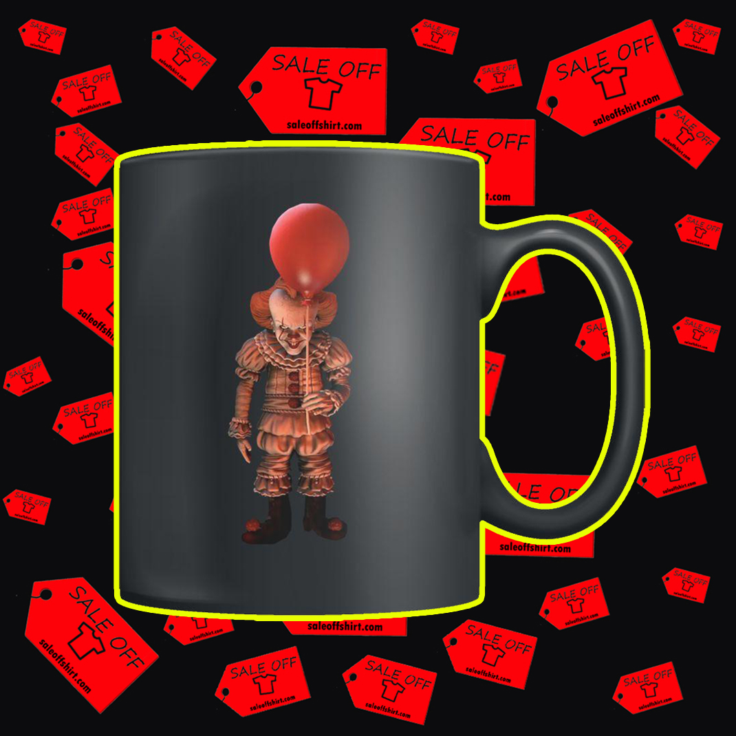 IT Pennywise What are you looking at mug