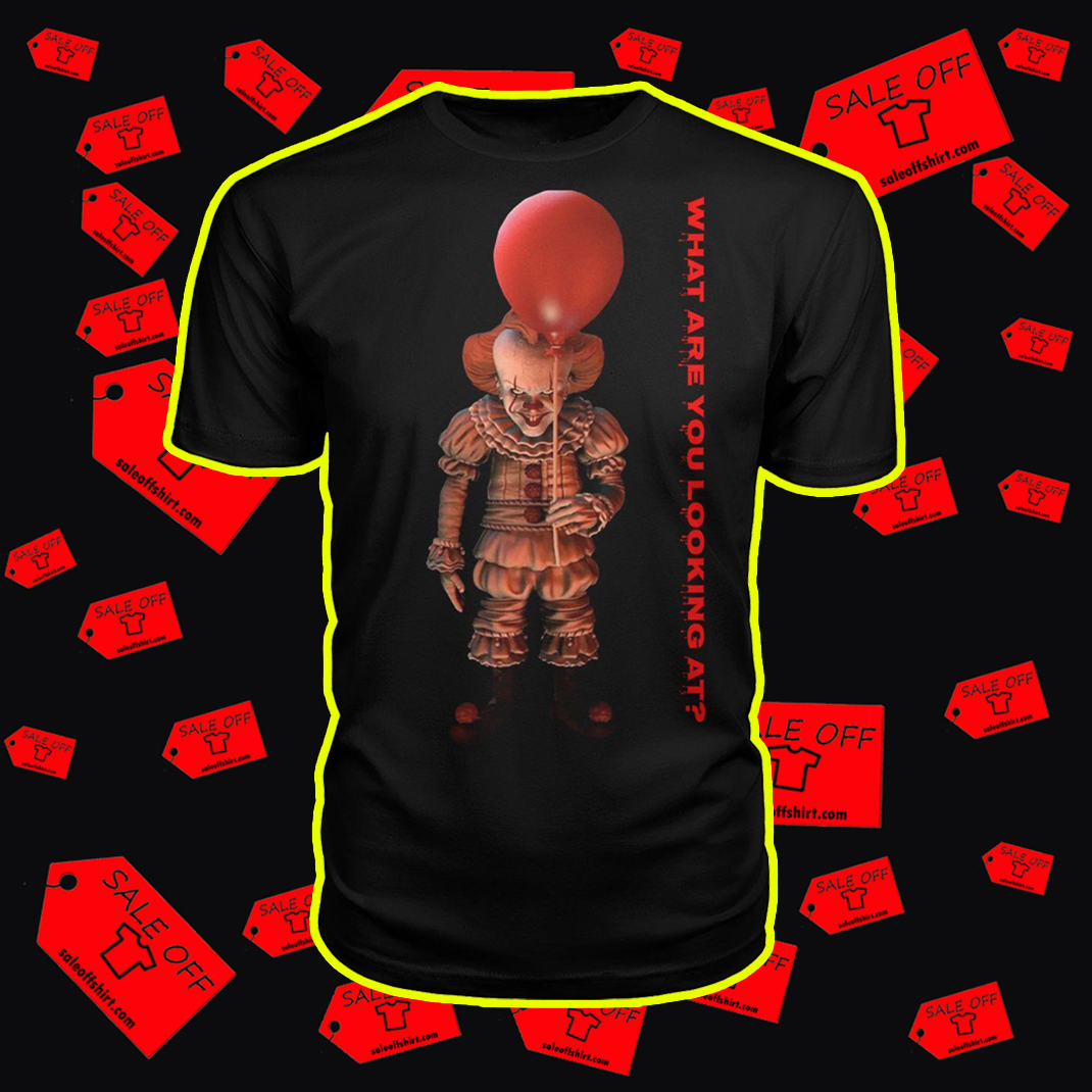 IT Pennywise What are you looking at shirt