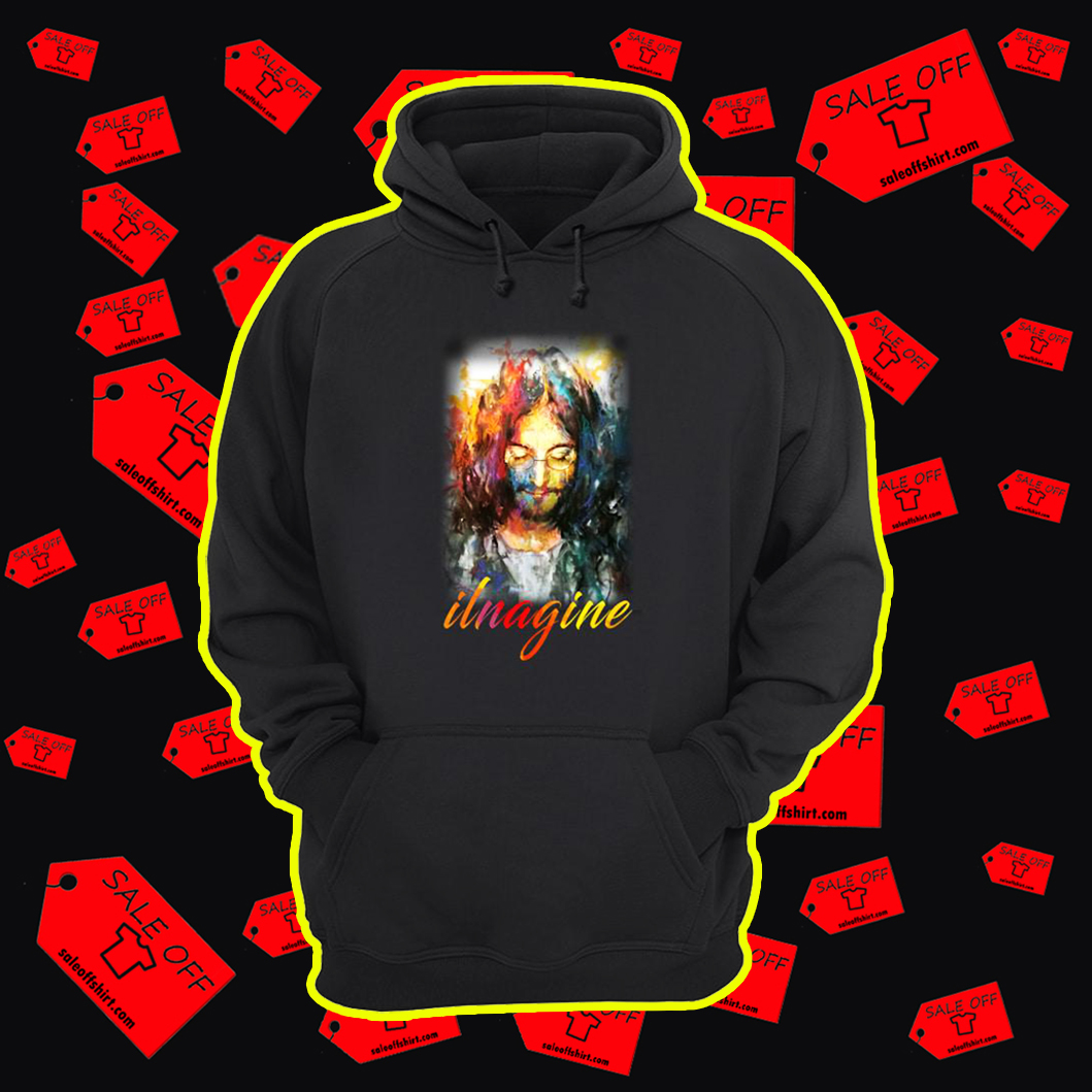 John Lennon Ilnagine hoodie