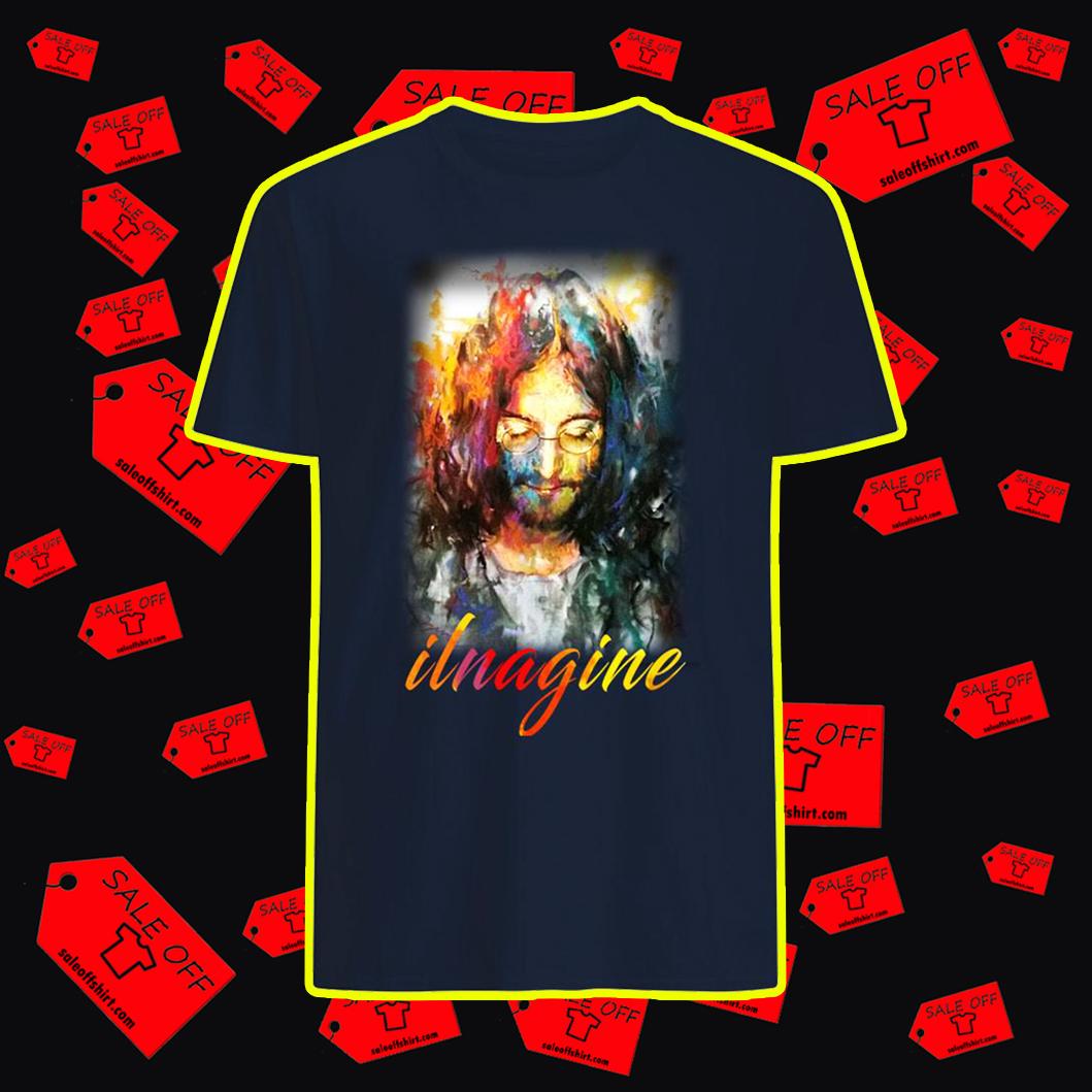 John Lennon Ilnagine shirt