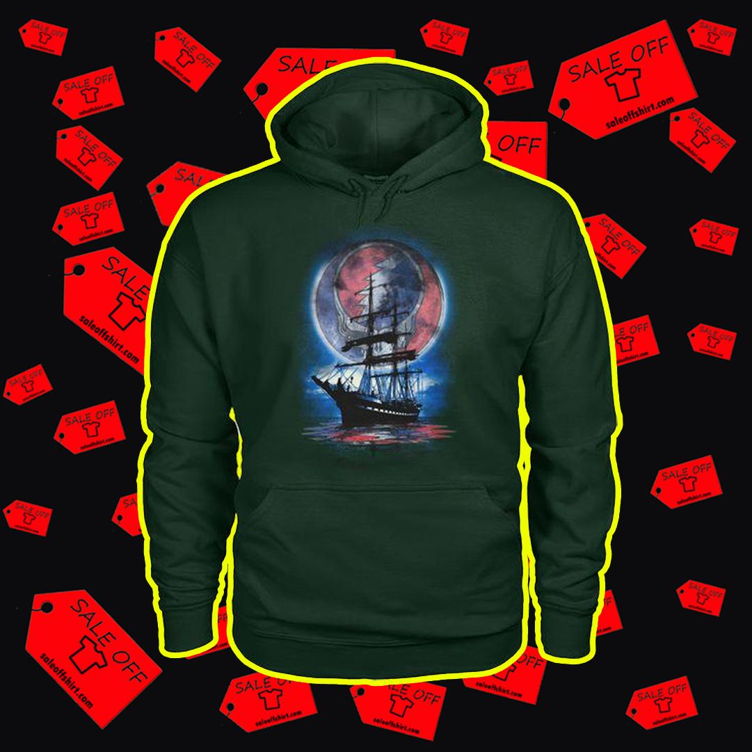 Lity Sunshine Boat Reflection hoodie