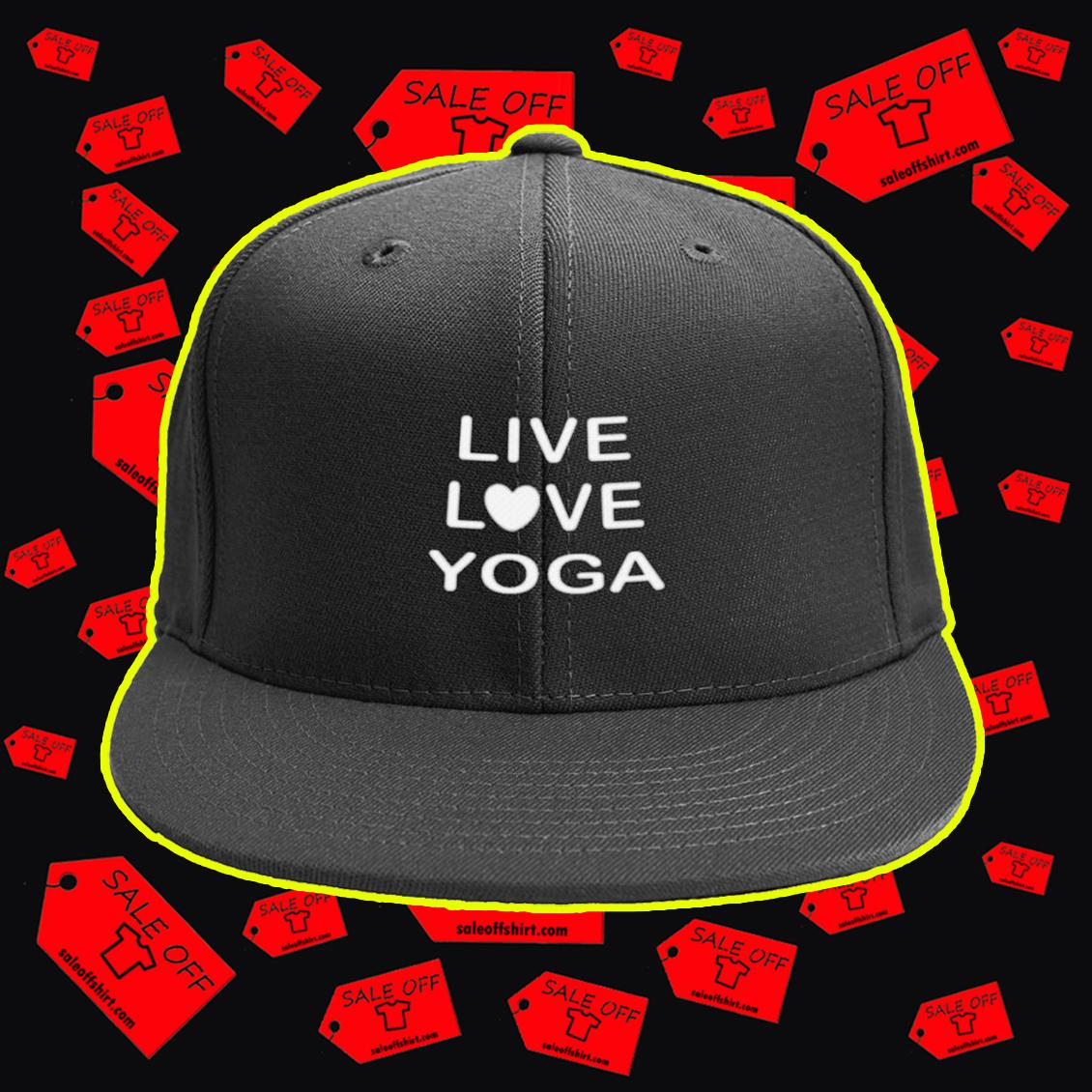 Live love yoga snapback