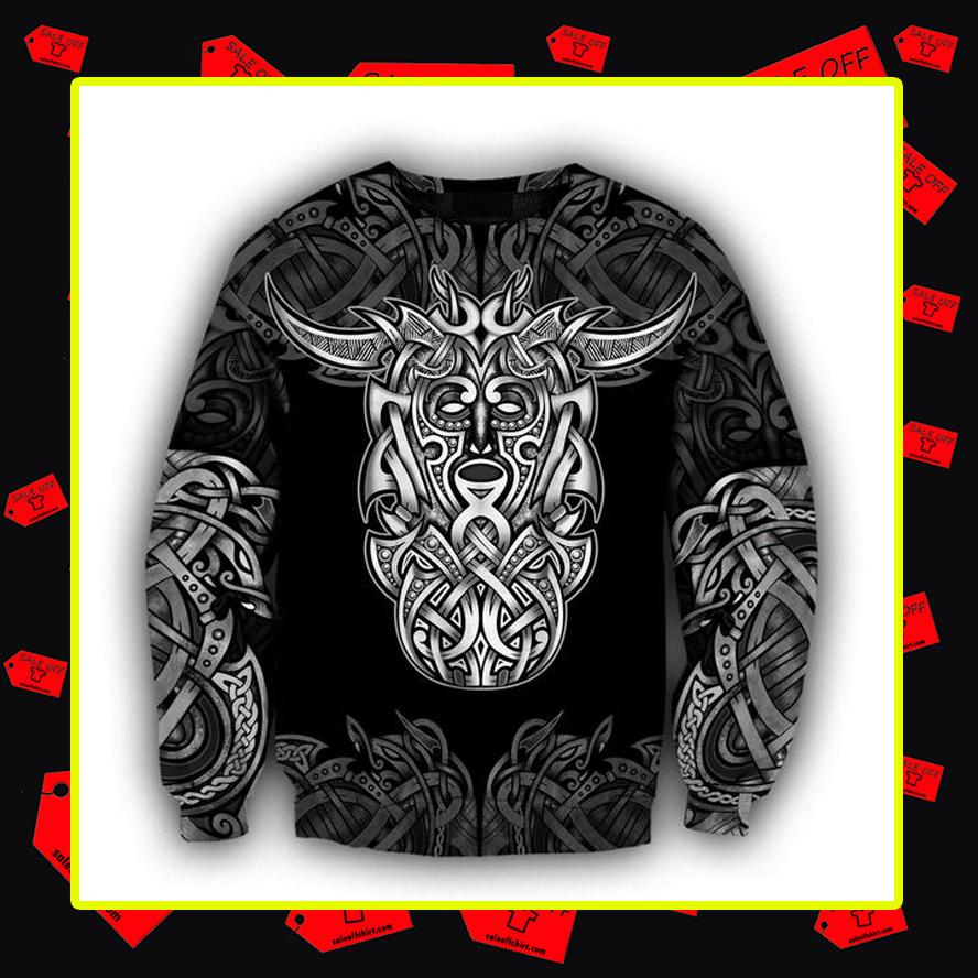 Loki Godmask All Over Printed 3d Sweatshirt