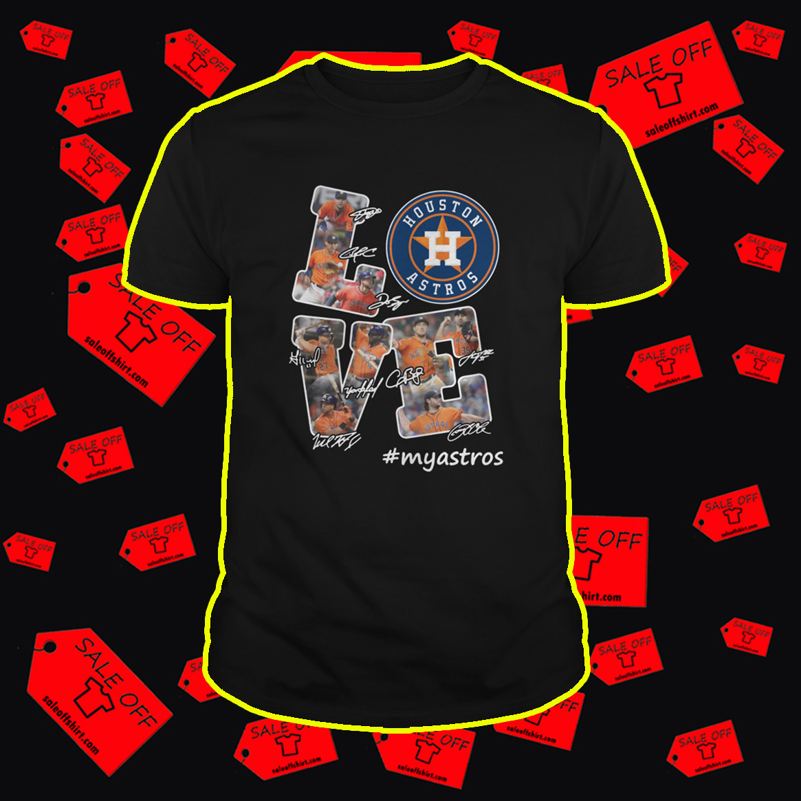 Love Houston Astros #myastros shirt
