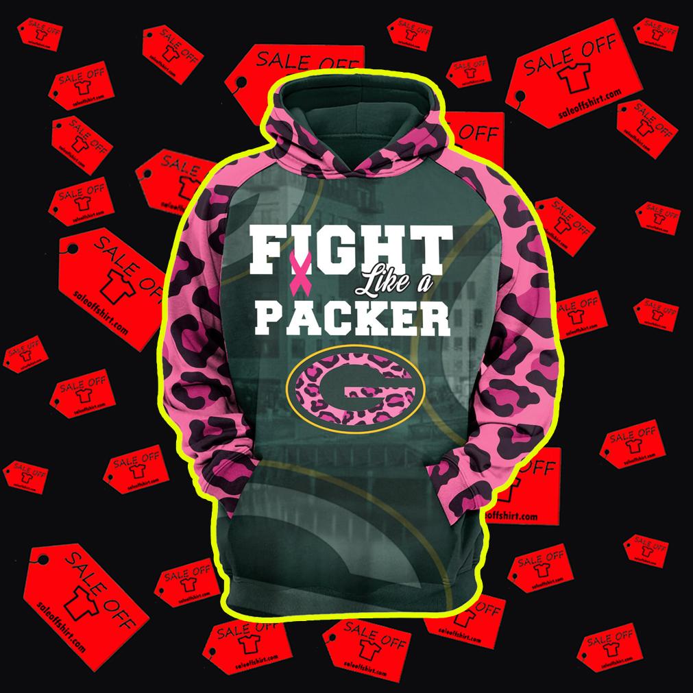 pink packer sweatshirt
