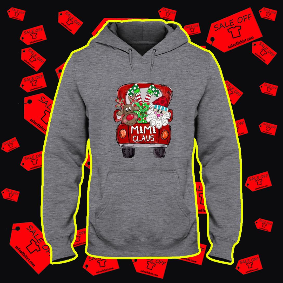 Santa and Reindeer Mimi Claus hoodie