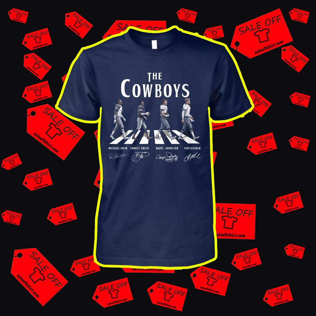 The Cowboys Abbey Road shirt