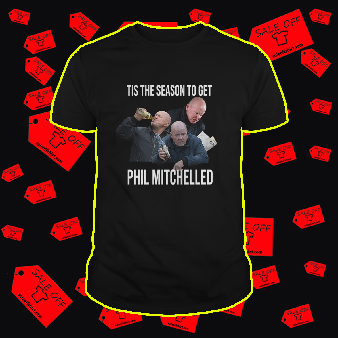 Tis The Season To Get Phil Mitchelled shirt