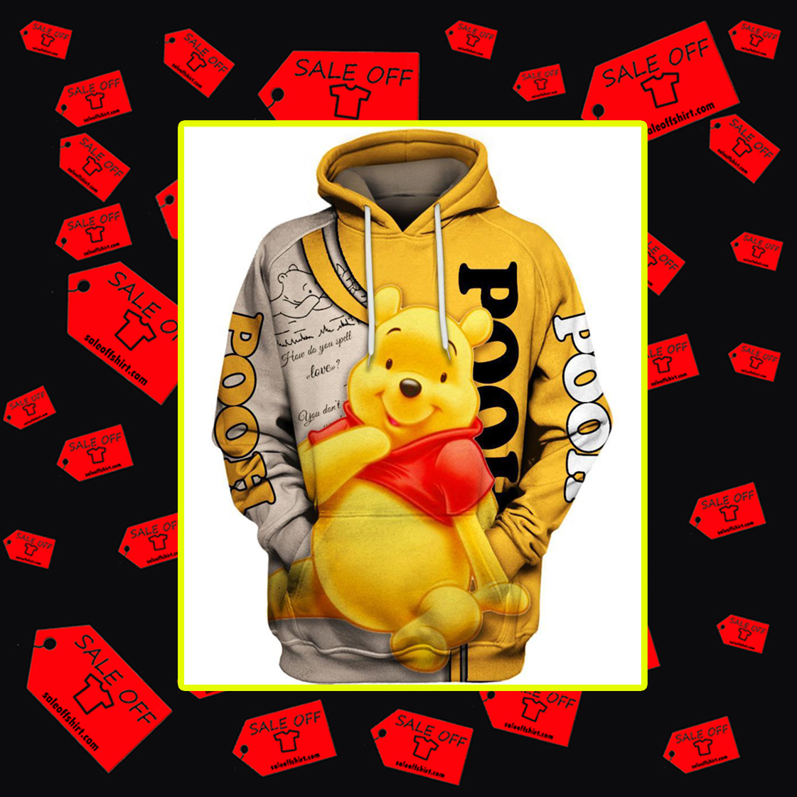 Winnie the Pooh 3d hoodie