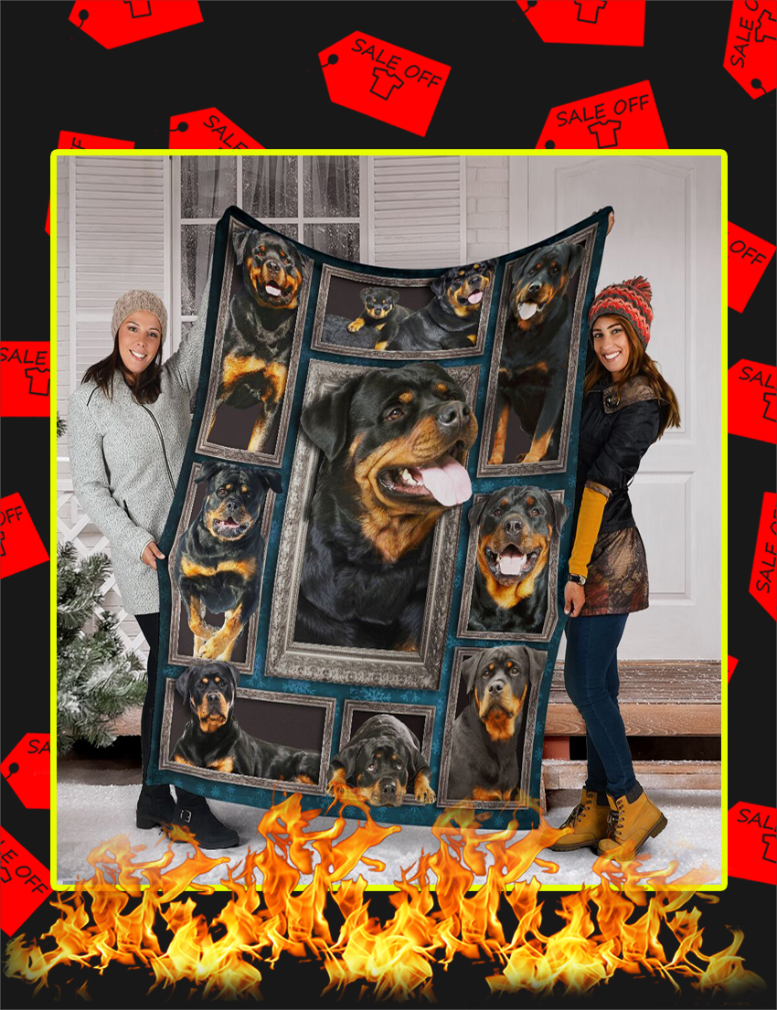 3d Rottweiler Blanket-Youth
