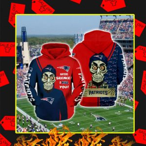 Achmed Patriots Haters Silence I Kill You 3d Hoodie