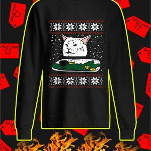 Cat Meme Ugly Christmas Sweater