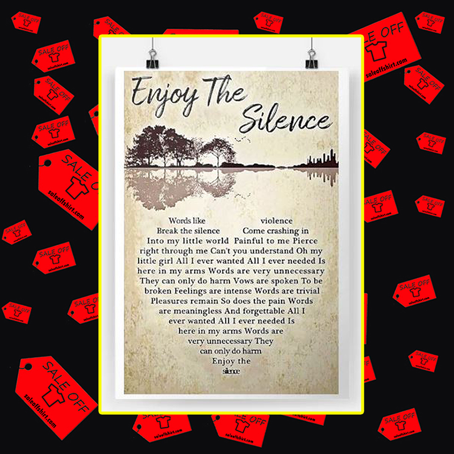 Enjoy The Silence Poster-A2