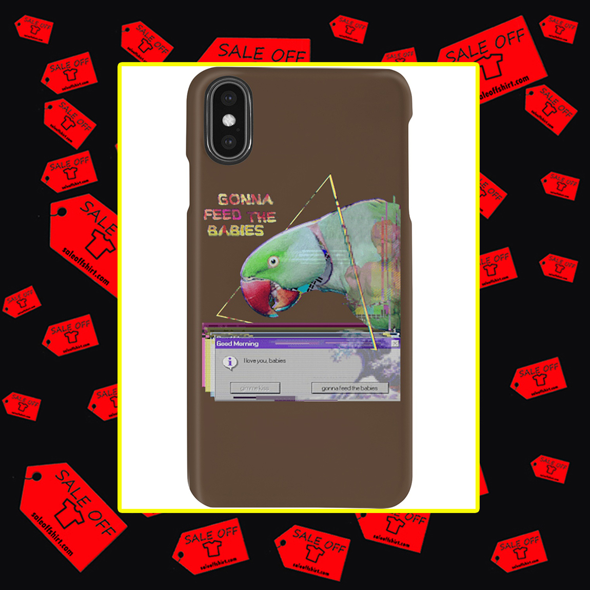 Gonna Feed The Babies Parrot Phone Case- xs max