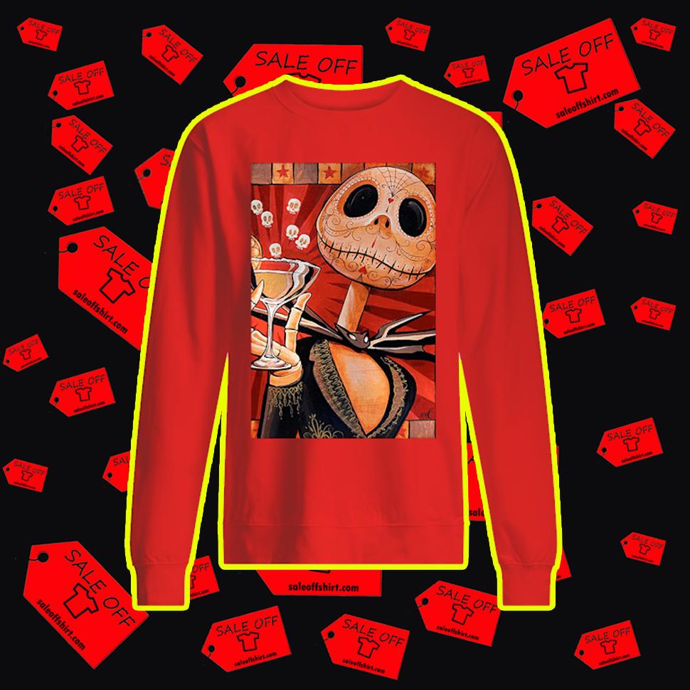 Jack Celebrates The Dead Sweatshirt-red