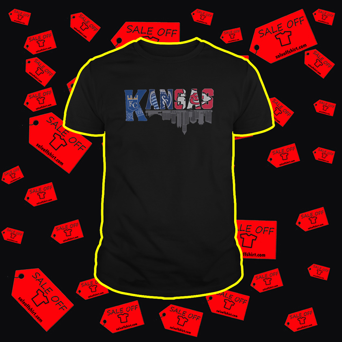 Kansas Sports Teams Logo shirt
