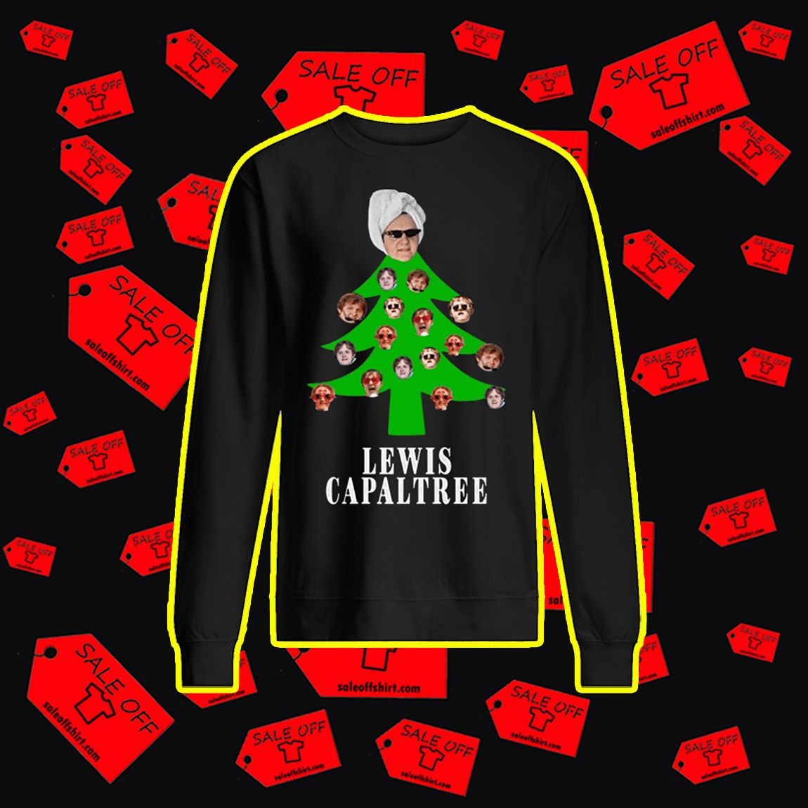 Lewis Capaltree Christmas Jumper