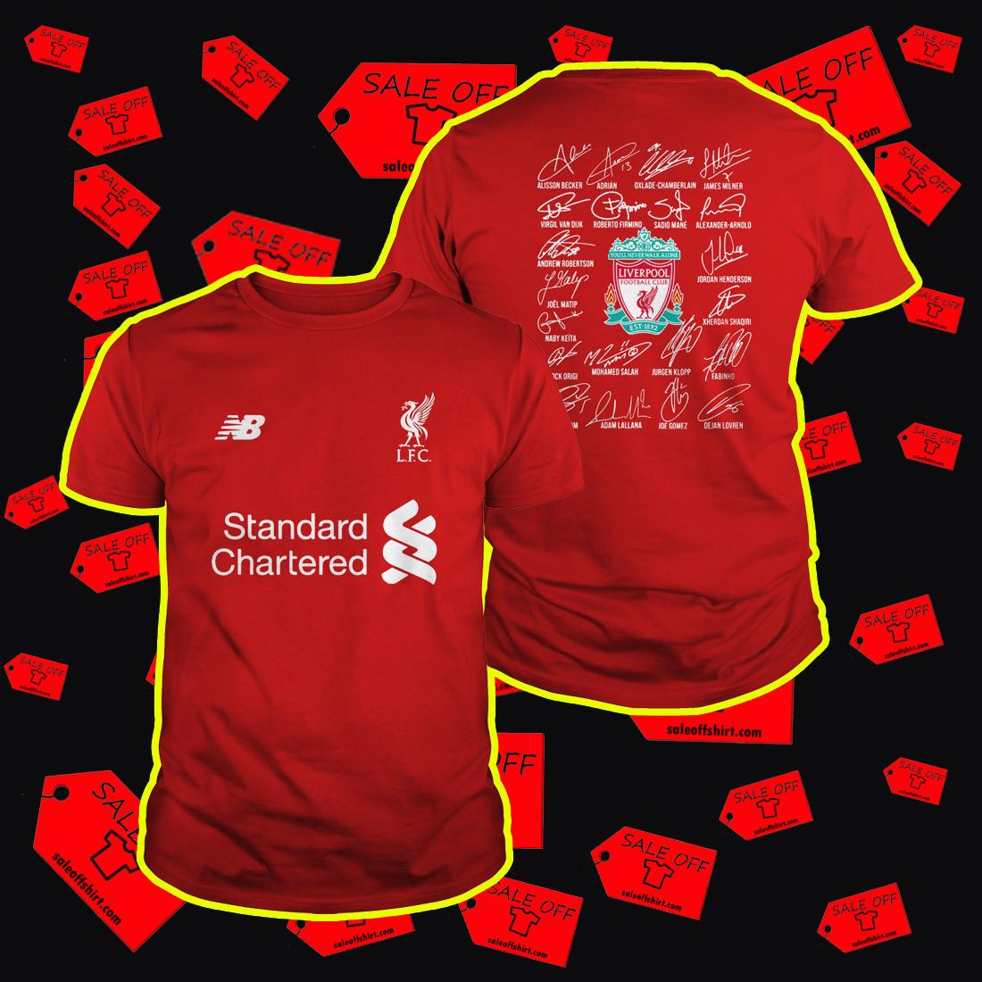 liverpool shirt names