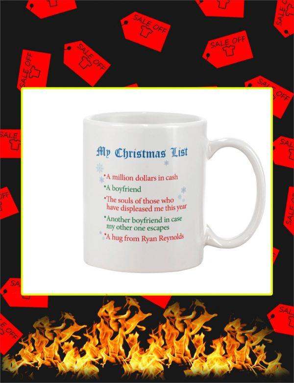 My Christmas List Mug