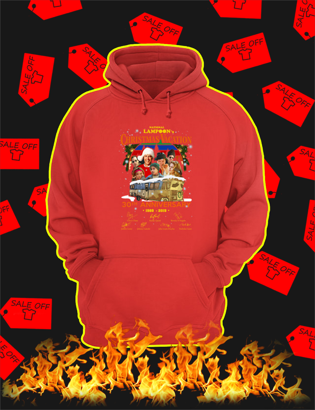 National Lampoon's Christmas Vacation 30th Anniversary 1989 2019 hoodie