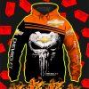 Punisher Skull Chevrolet 3d Hoodie