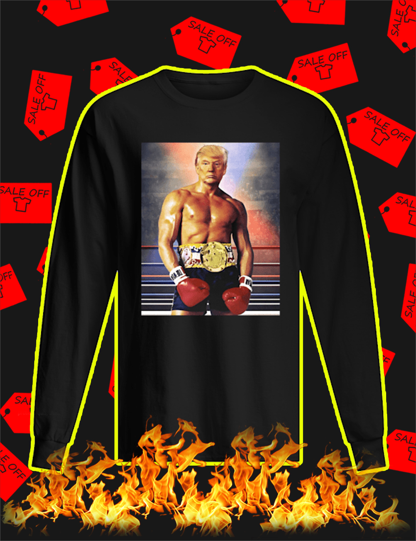 Rocky Trump long sleeve tee
