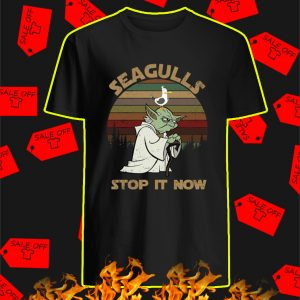 Seagull Stop It Now Vintage shirt