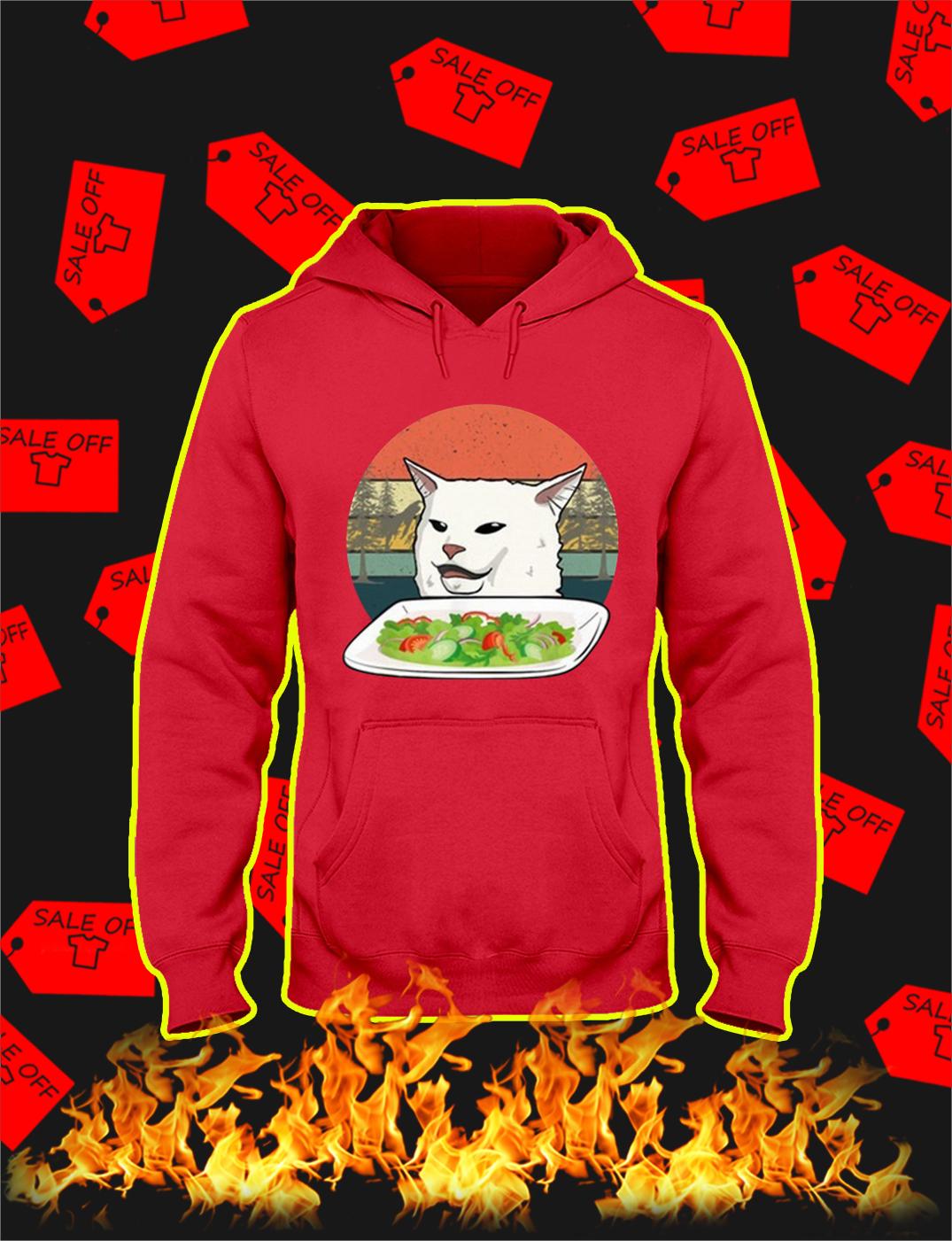 Smudge the Cat Meme Vintage hoodie